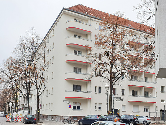 Komplexsanierung Wohngebäude Altenbraker Berlin fca Architekten