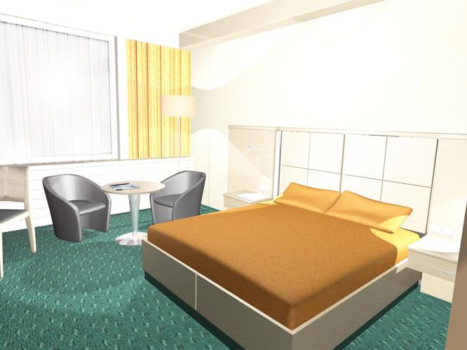 Hotel Victoria Minsk Zimmer fca GmbH Architekten