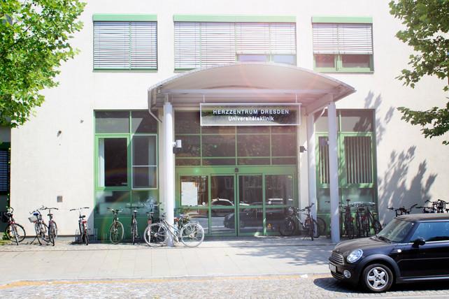 Herzzentrum Dresden Eingangsbereich