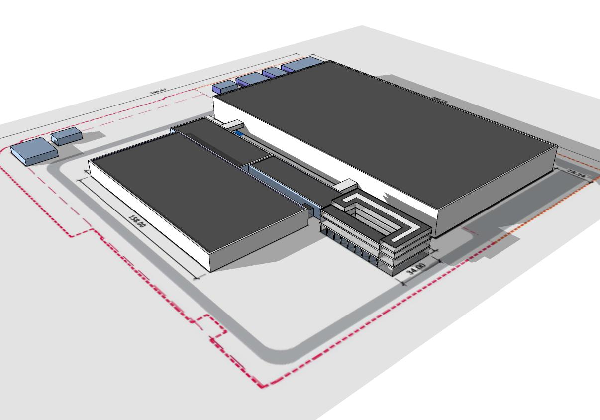 Plastic Logic Halbleiterfabrik fca Architekten