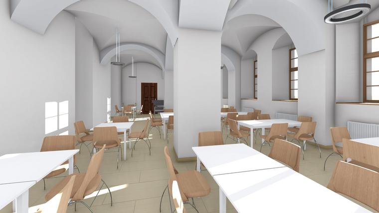 Reussisches Rutheneum Gera Sanierung Schulgebäude Visualsiierung fca