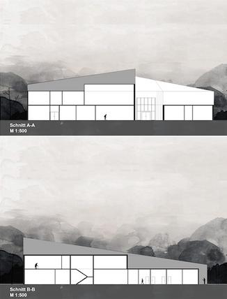 Neubau Gesundheitszentrum Erfde fca Architekten Schnitt