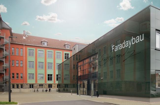 TU Ilmenau Faraday Bau