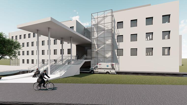 Diakonissenkrankenhaus Dresden fca Eingangsbereich
