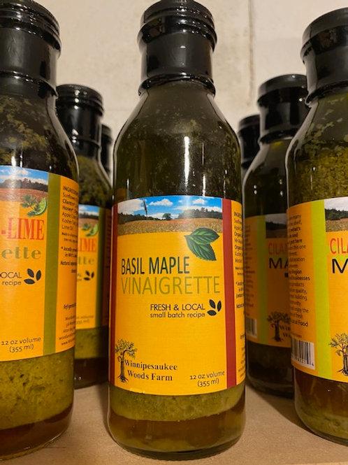 Basil Maple Vinaigrette - Fresh & Local
