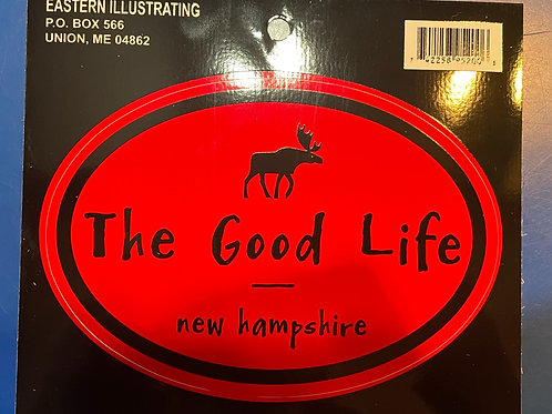 The Good Life Sticker