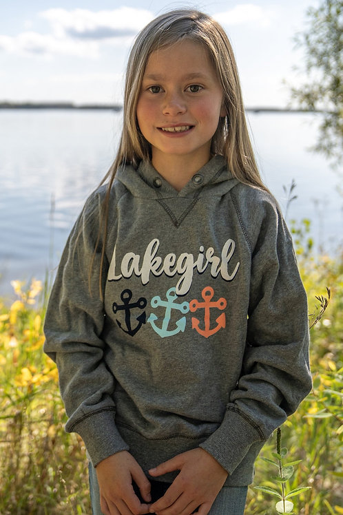 Lakegirl Youth Anchor Sweatshirt