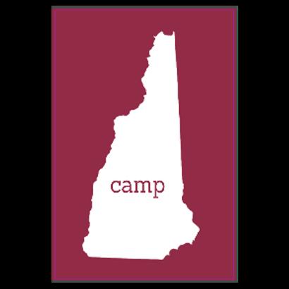 Camp New Hampshire Sticker