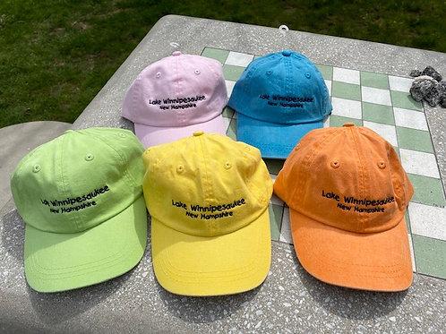 Youth BB Caps Lake Winnipesauke, Waukewan & Meredith