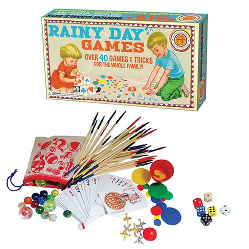 Rainy Day Game - over 40 games & tricks for whole family