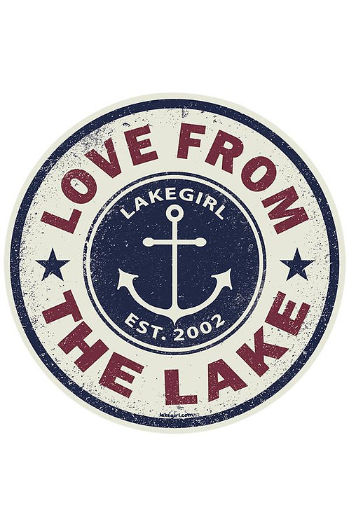 Lakegirl Swindler Anchor Sticker