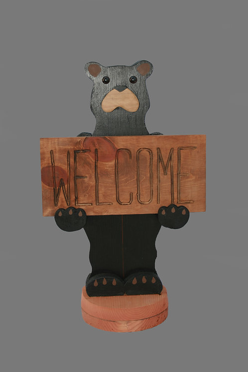 Bear/Moose Welcome Signs