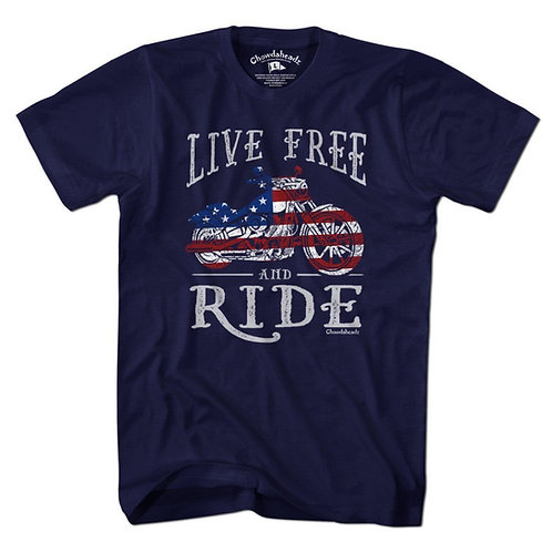 Live Free and Ride T-Shirt