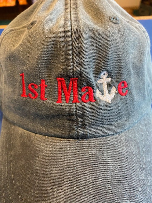 1st Mate Baseball Cap
