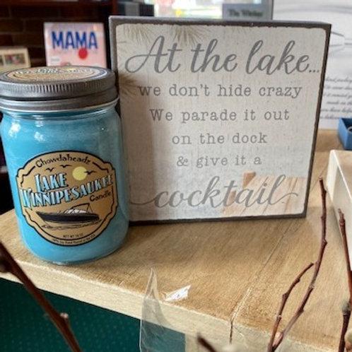 Lake Winnipesaukee Candle