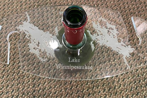 Lake Winnipesaukee Wine/Glass Holder