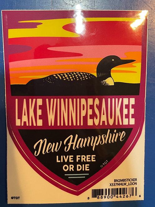 LW Loon Sticker