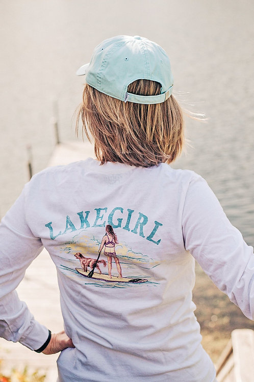 Lakegirl Paddle Board Long Sleeve