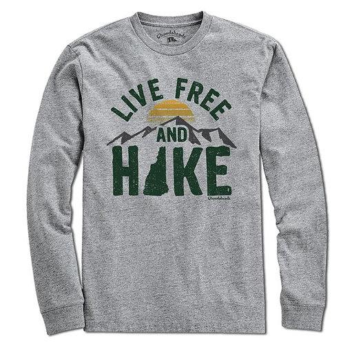 Live Free and Hike Long Sleeve Tee