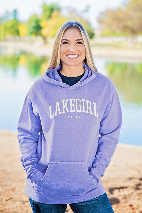 Lakegirl Periwinkle Hoodie