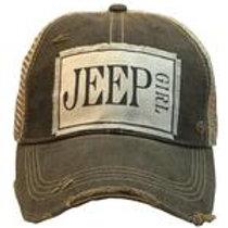 Jeep Girl Gray Trucker Hat