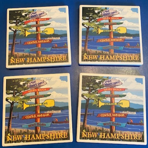 Set of 4 Destination Coasters