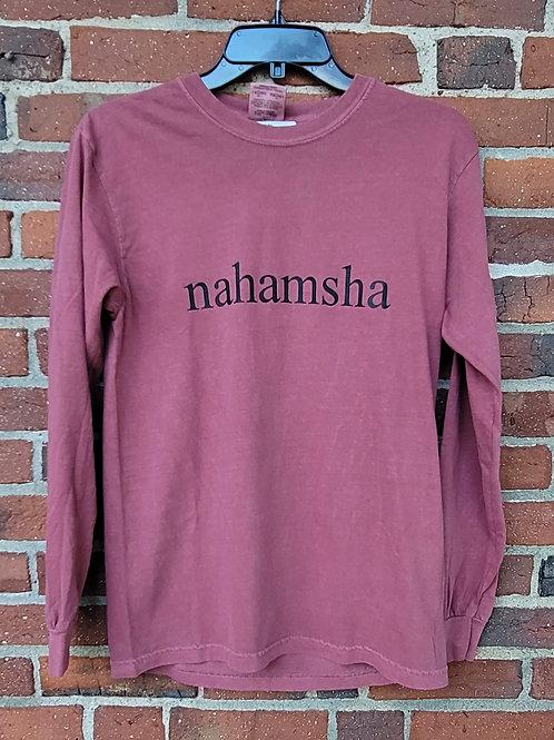 Nahamsha Long Sleeve Tee - Red