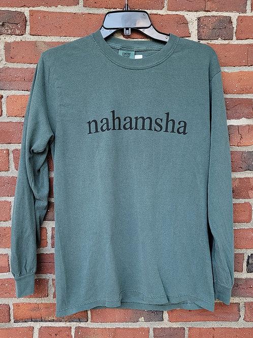 Nahamsha Long Sleeve Tee - Green