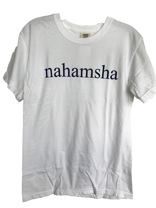 Nahamsha Tee - White