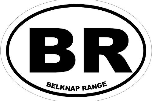 Belknap Range Decal