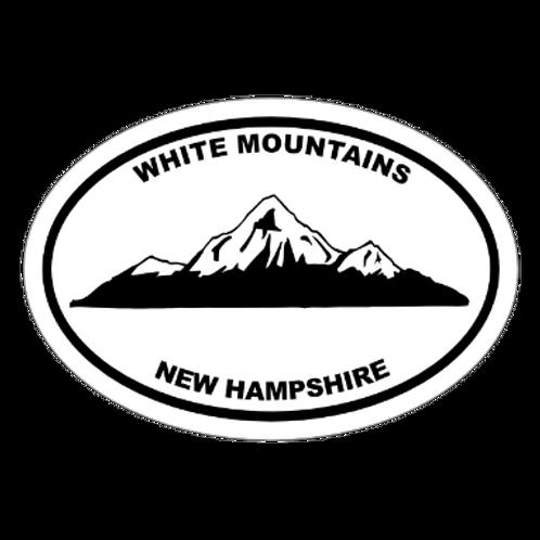 White Mountains, New Hampshire Sticker