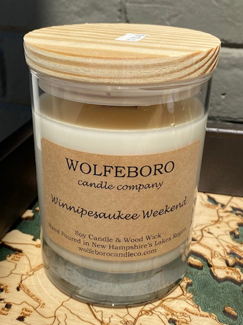 Winnipesaukee Weekend Soy Candle