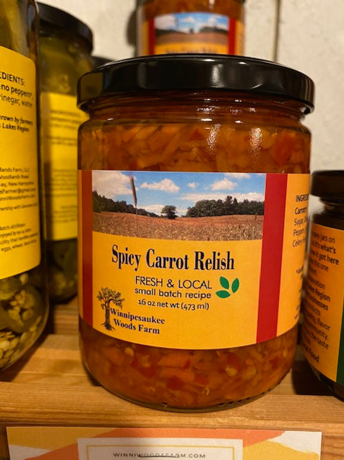 Spicy Carrot Relish - Fresh & Local