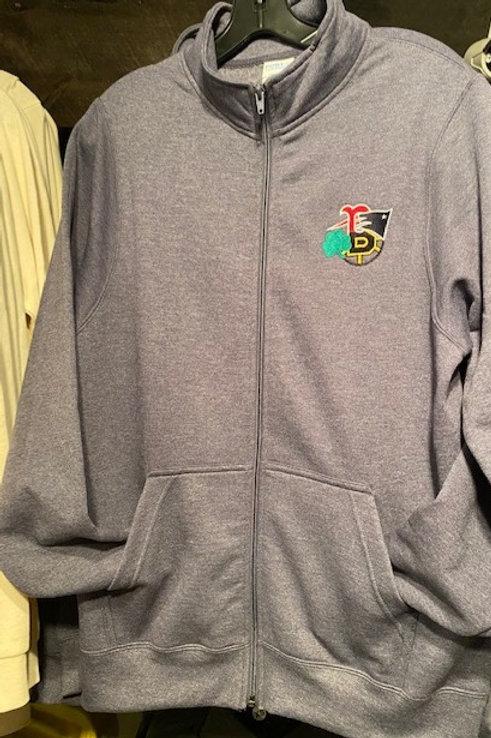 4 Sport Full Zip Sweatshirt (No Hood)
