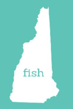 Fish New Hampshire Sticker