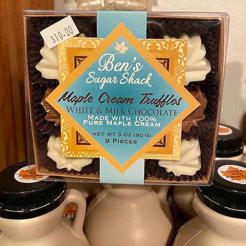 Maple Cream Truffles