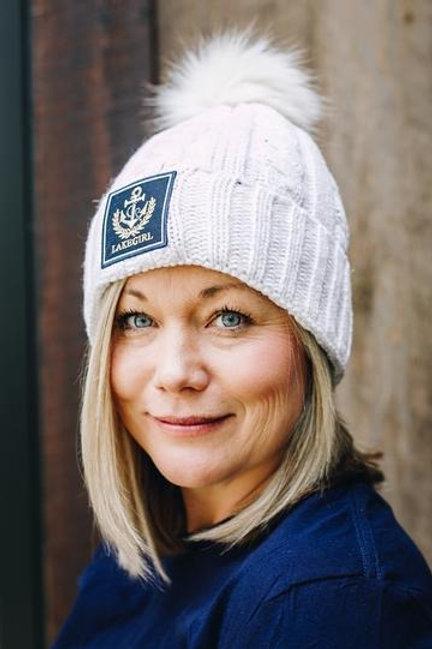 Lakegirl Knit POM POM hat