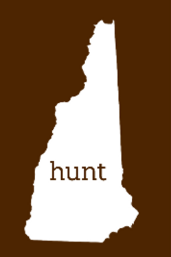 Hunt New Hampshire Sticker