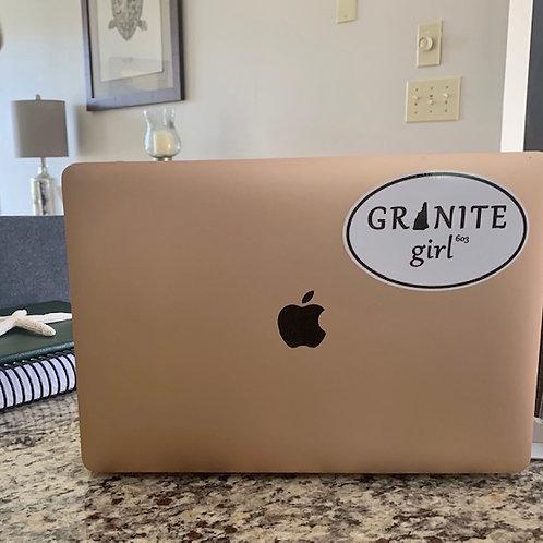 Granite Girl Decal