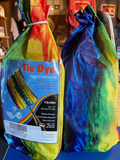Tie Dye Kite - Pouch Parafoil