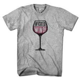 Wicked Wino Ladies V-neck Tee