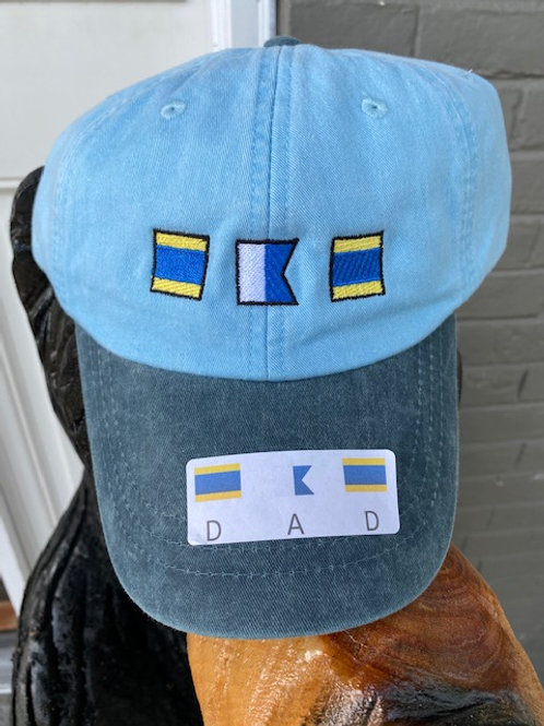 DAD Nautical Cap