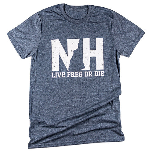 NH Gray Logo Tee