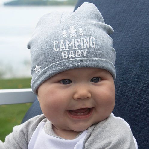 Camping Baby Beanie