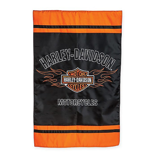Harley Davidson Applique Flag - 2 sided