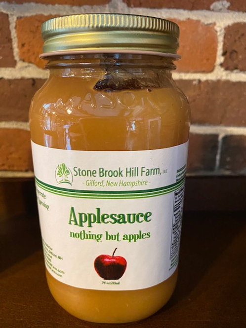 Applesauce from Stone Brook Hill Farm in GILFORD