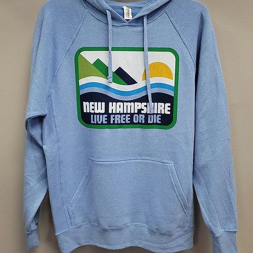 New Hampshire Live Free or Die Hoodie