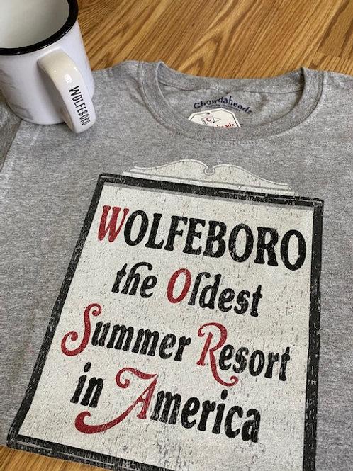 Wolfeboro Summer Resort Tee