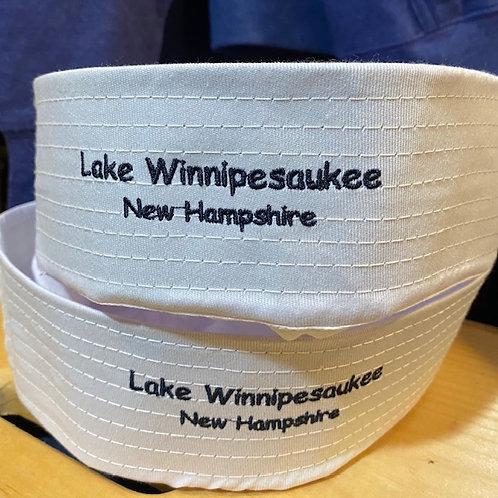 Lake Winnipesaukee Adult Sailor Hat