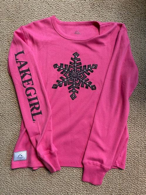 Lakegirl Snowflake Thermal Sparkle - Size Large